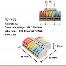 Regleta conexión NTF3A1